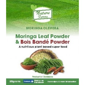 Moringa Leaf Powder and Tumeric Powder - 100g